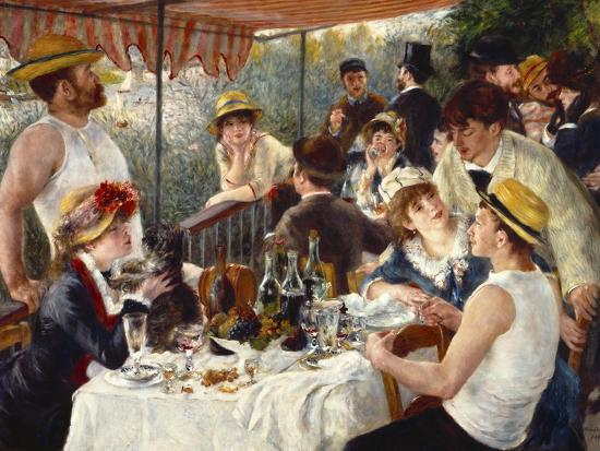 Luncheon of the Boating Party-Pierre-Auguste Renoir-Premium Giclee Print