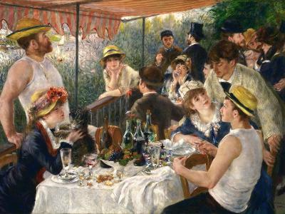 Luncheon of the Boating Party-Pierre-Auguste Renoir-Giclee Print