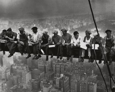 Lunchtime Atop a Skyscraper NYC-Charles C^ Ebbets-Art Print