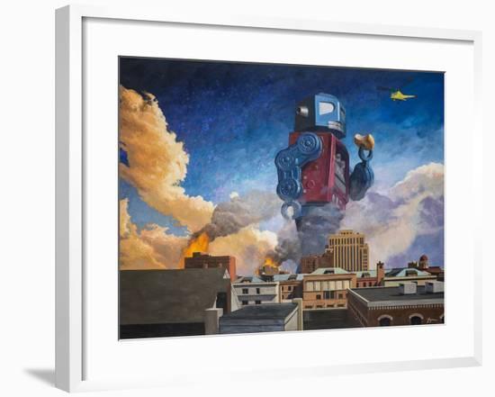 Lunchtime-Eric Joyner-Framed Giclee Print