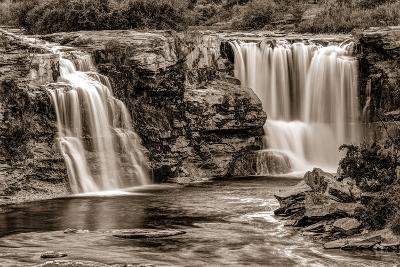 Lundbreck Falls on Crowsnest River, Lundbreck, Alberta, Canada--Photographic Print