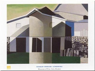 Lunenburg-Charles Sheeler-Art Print