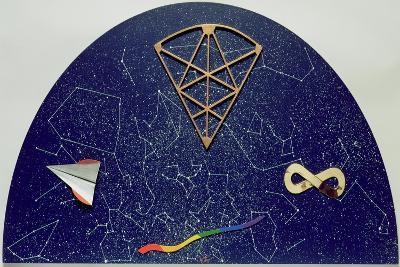 Lunetta Con Constellazioni-Lucio Del Pezzo-Giclee Print