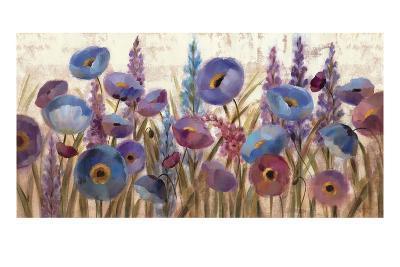 Lupines and Poppies-Silvia Vassileva-Premium Giclee Print