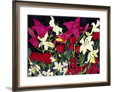 Luscious Lilies-Carissa Luminess-Framed Giclee Print