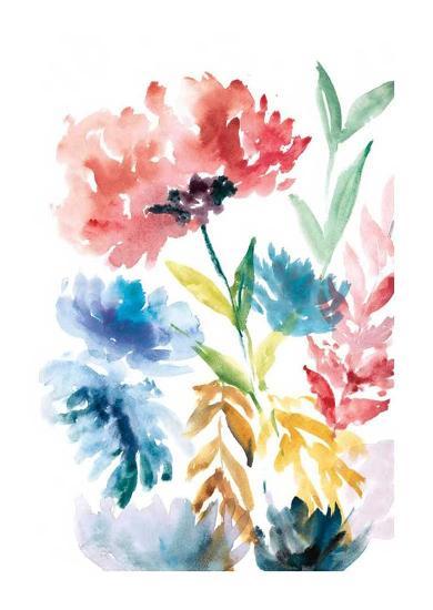 Lush Floral I-Rebecca Meyers-Art Print