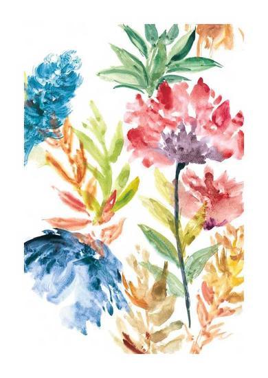 Lush Floral II-Rebecca Meyers-Giclee Print