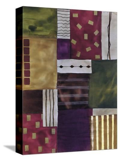 Lush Geometry-Muriel Verger-Stretched Canvas Print