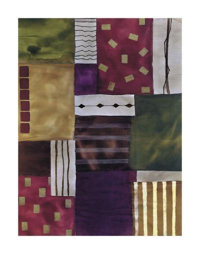 Lush Geometry-Muriel Verger-Art Print
