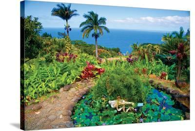 Lush Maui--Stretched Canvas Print