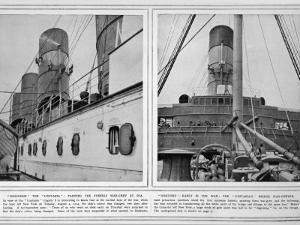 Lusitania in Warpaint