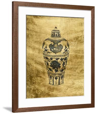 Lustr Chinese Vase I-Melissa Wang-Framed Art Print