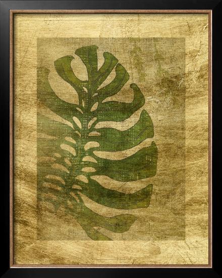Lustr Frond III-Chariklia Zarris-Framed Art Print