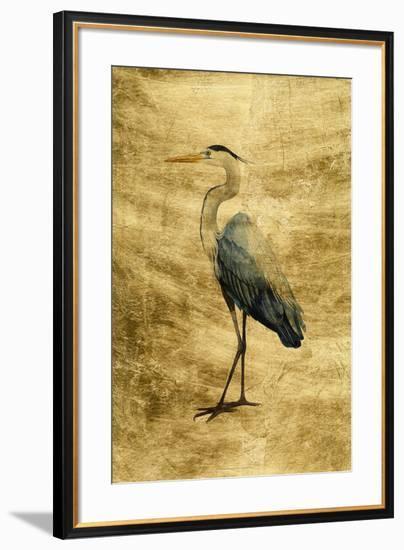 Lustr Seabird Heron I-Grace Popp-Framed Art Print