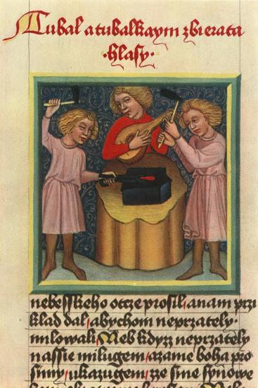 'Lute: Krumlov chrestomathy of the beginning of the fifteenth century', 1948-Unknown-Giclee Print