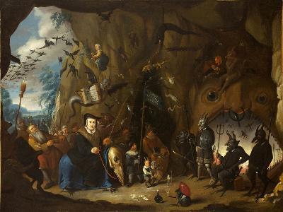 Luther in Hell-Egbert van Heemskerk the Younger-Giclee Print