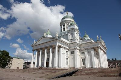 Lutheran Cathedral, Helsinki, Finland, 2011-Sheldon Marshall-Photographic Print