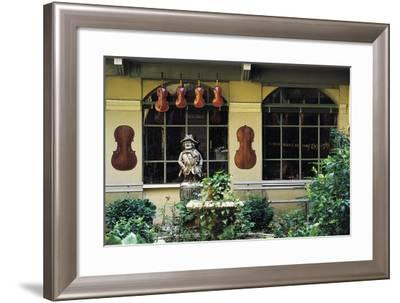 Luthiers Workshop, Cremona, Lombardy, Italy--Framed Photographic Print
