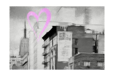 Luv Collection - New York City - Buildings Style-Philippe Hugonnard-Giclee Print