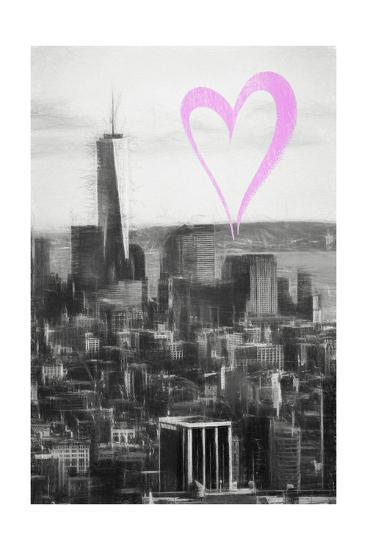 Luv Collection - New York City - Downtown Manhattan-Philippe Hugonnard-Giclee Print