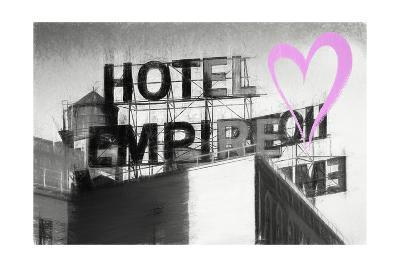 Luv Collection - New York City - Hotel Empire II-Philippe Hugonnard-Giclee Print