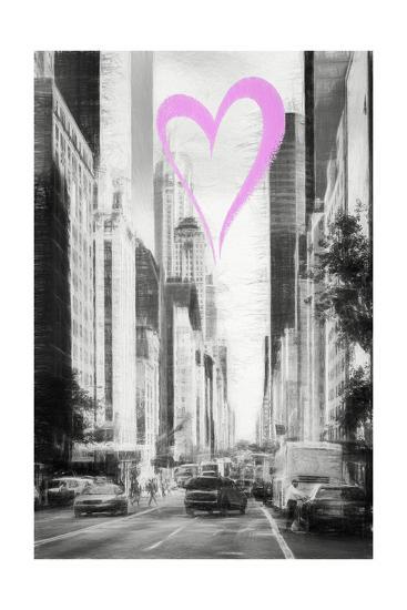 Luv Collection - New York City - Manhattan Traffic-Philippe Hugonnard-Giclee Print