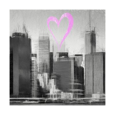 Luv Collection - New York City - Skyscrapers II-Philippe Hugonnard-Giclee Print