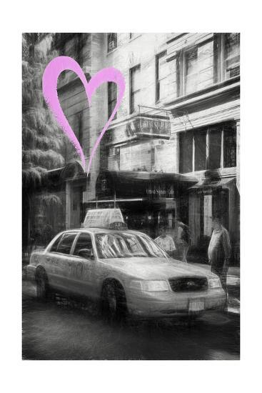 Luv Collection - New York City - Taxi Cabs-Philippe Hugonnard-Giclee Print