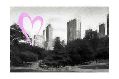 Luv Collection - New York City - The Central Park-Philippe Hugonnard-Giclee Print