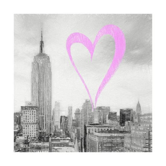 Luv Collection - New York City - The Cityscape II-Philippe Hugonnard-Giclee Print