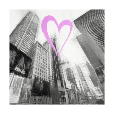 Luv Collection - New York City - Times Square III-Philippe Hugonnard-Giclee Print