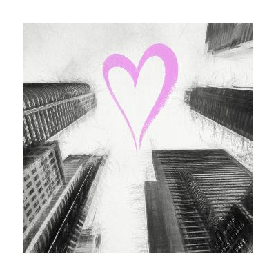 Luv Collection - New York City - Times Square Skyscrapers II-Philippe Hugonnard-Giclee Print