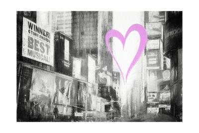 Luv Collection - New York City - Times Square-Philippe Hugonnard-Giclee Print