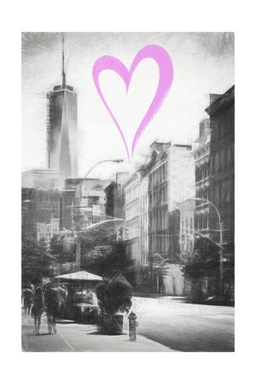 Luv Collection - New York City - Urban Street-Philippe Hugonnard-Giclee Print