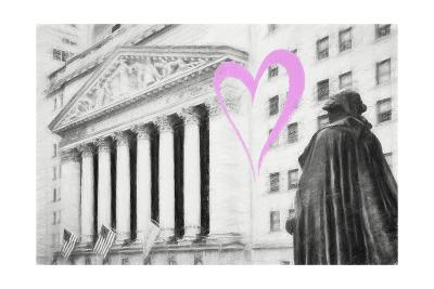 Luv Collection - New York City - Wall Street-Philippe Hugonnard-Giclee Print