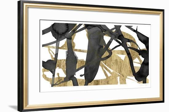 Luxe Gold III-Jennifer Goldberger-Limited Edition Framed Print