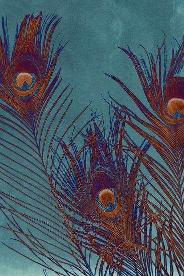 Luxe Plumes I-Jason Johnson-Art Print