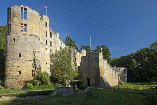Luxembourg, Beaufort Castle, Ruin-Chris Seba-Photographic Print