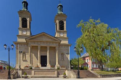 Luxembourg, City of Mersch, Church, 19th Century, Neoclassicism-Chris Seba-Photographic Print