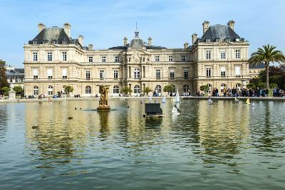 Luxembourg Palace and Gardens, Paris, France, Europe-G & M Therin-Weise-Photographic Print