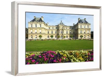 Luxembourg Palace and Gardens, Paris, France, Europe-G & M Therin-Weise-Framed Photographic Print