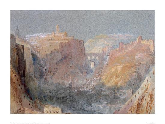 Luxembourg-J^ M^ W^ Turner-Giclee Print