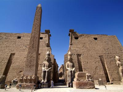 Luxor Temple, Luxor, Thebes, UNESCO World Heritage Site, Egypt, North Africa, Africa-Hans Peter Merten-Photographic Print