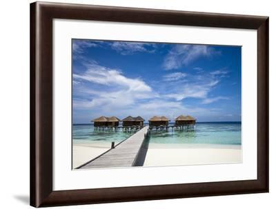 Luxury Hotel in Tropical Island-nitrogenic.com-Framed Photographic Print