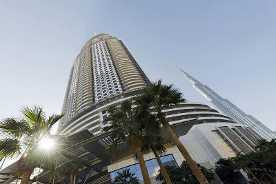 Luxury Hotel the Address, 63 Floors, Metropolis, Downtown Dubai, Dubai, United Arab Emirates-Axel Schmies-Photographic Print