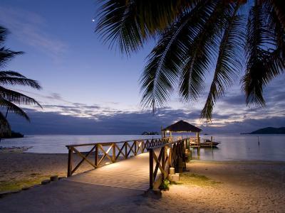 Luxury Resort, Malolo Island, Mamanuca Group, Fiji-Michele Falzone-Photographic Print