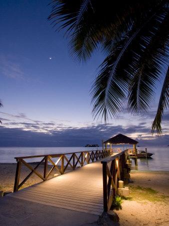 Luxury Resort, Malolo Island, Mamanuca Group, Fiji-Michele Falzone-Premium Photographic Print