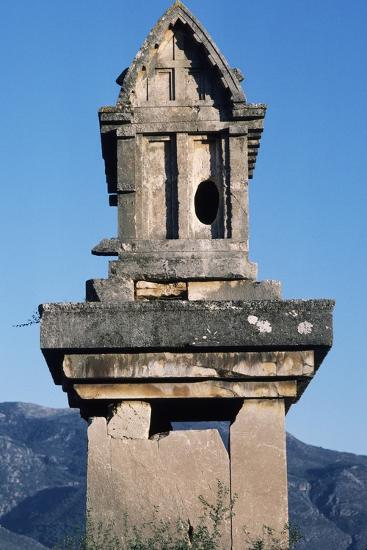 Lycian Gravestone, Xanthos--Photographic Print
