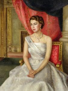 Queen Elizabeth II by Lydia de Burgh