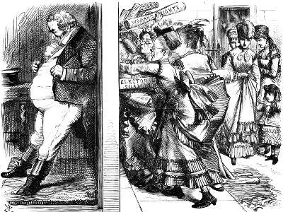 Lydia Ernestine Becker (1827-189), British Advocate of Female Suffrage, 1870--Giclee Print